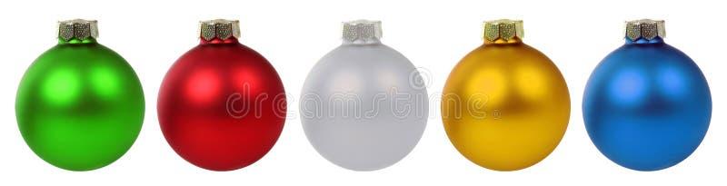 Download Décoration Colorée De Babioles De Boules De Noël D'isolement Image stock - Image du ornement, décembre: 77162989