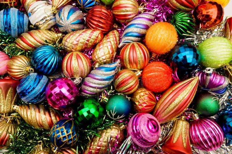 Décoration colorée de Noël images stock