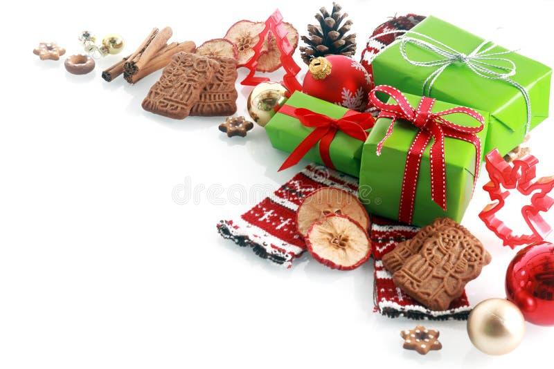 Décoration décorative de coin de Noël photos libres de droits