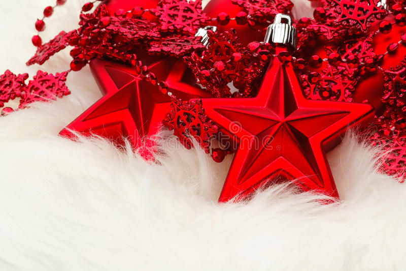 Décoration d'étoile de Noël photo libre de droits