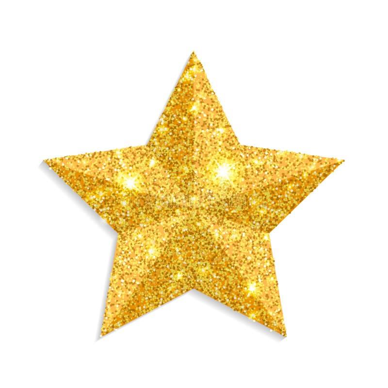Décoration d'étoile de Noël  illustration de vecteur