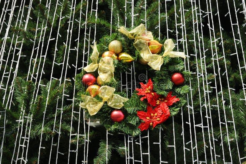 Décoration d'arbre de Noël photo libre de droits