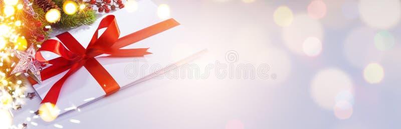 Décoration d'Art Christmas ; ornement de saison des vacances ; carte de voeux photo libre de droits