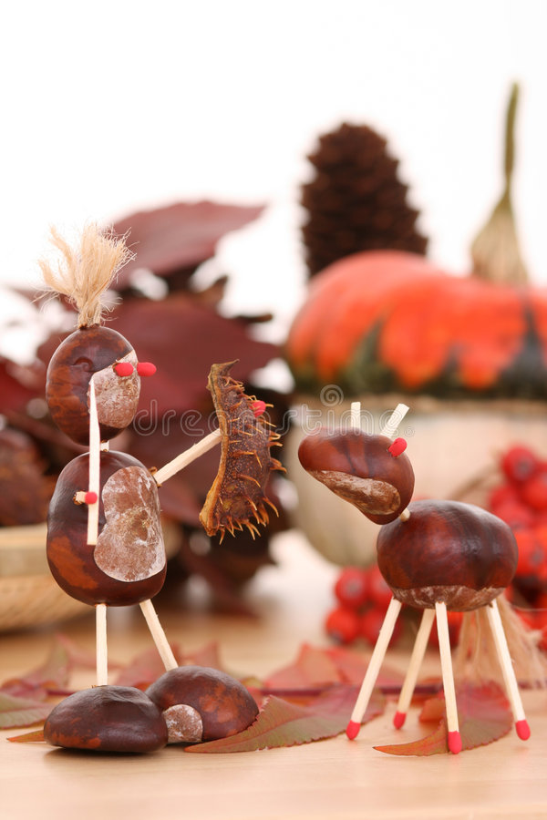 Décoration d'automne photographie stock libre de droits