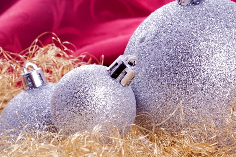 Décoration de bille de Noël images libres de droits