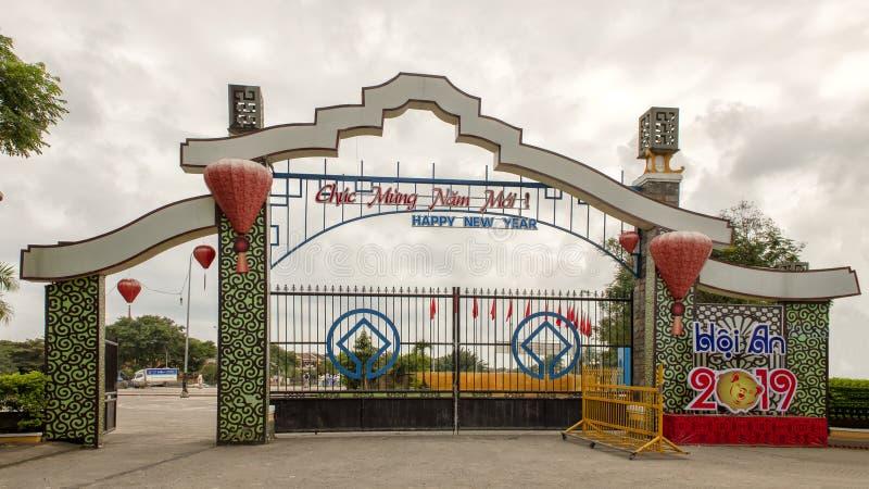 Décoration de bonne année, Hoi An, Vietnam images stock