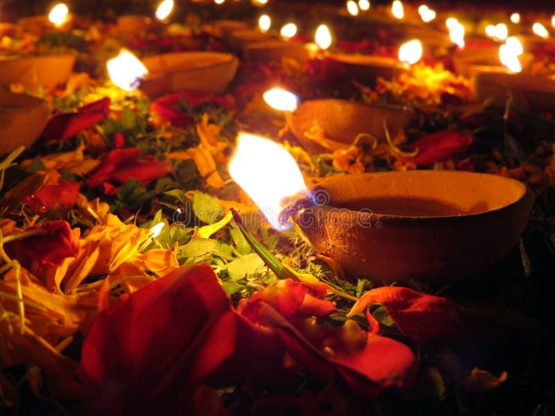 Décoration De Diwali Photographie stock libre de droits