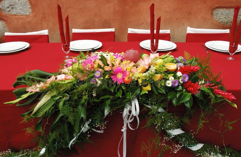 Décoration de fleur images stock