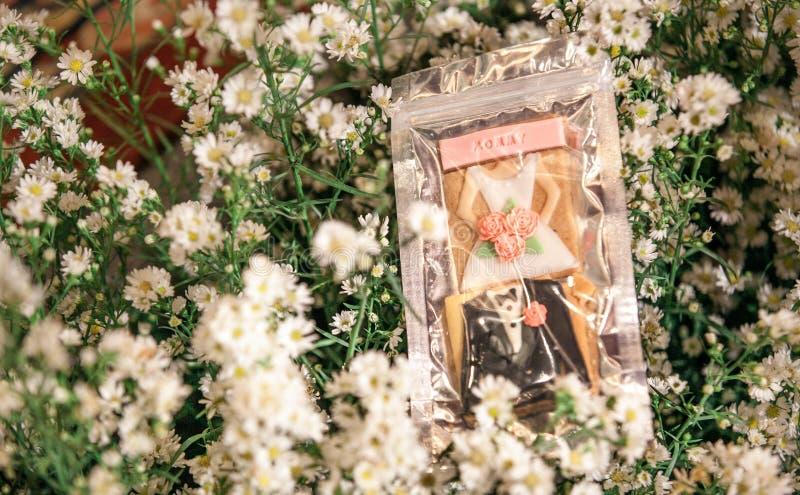 Décoration de fleurs sur l'étape images libres de droits