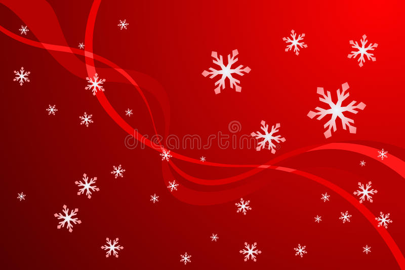 Décoration de flocon de neige de Noël illustration libre de droits