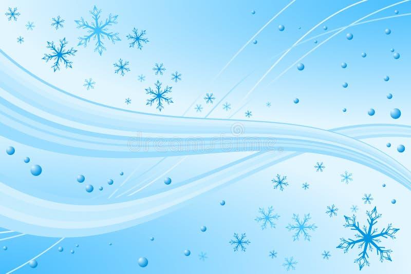 Décoration de flocon de neige de Noël illustration stock