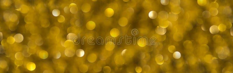 Décoration de l'arbre de Noël sur l'or photos stock