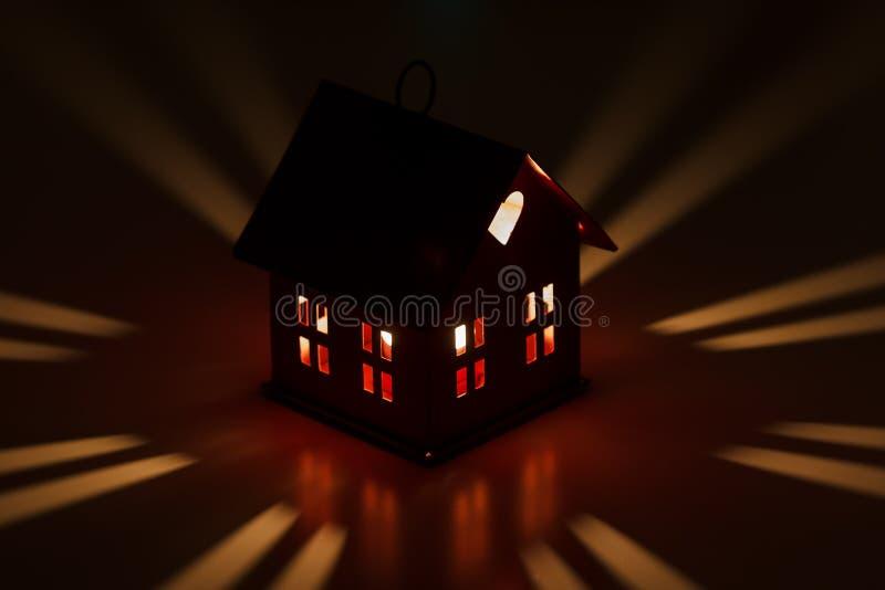 Décoration de maison de Noël image stock