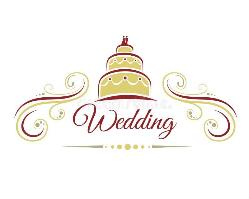 Décoration de mariage illustration stock