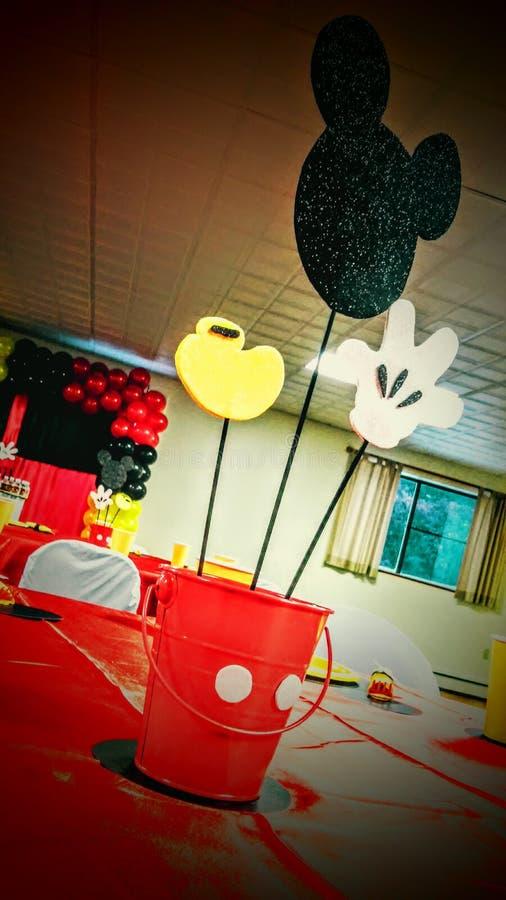 Décoration de Mickey et de Minnie Mouse photos stock