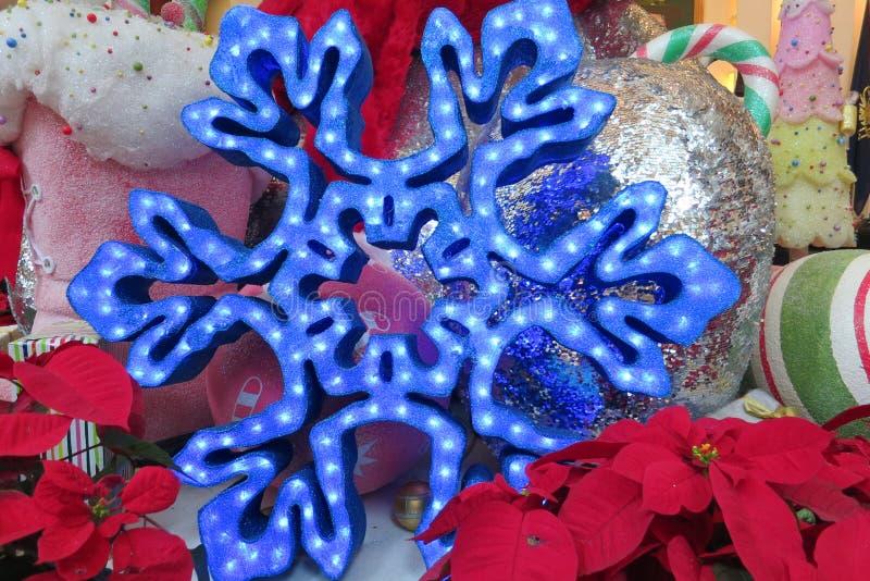 Décoration de neige photos stock