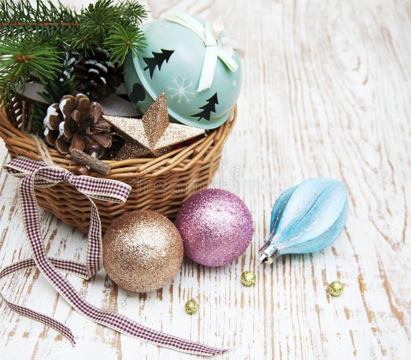 Download Décoration de Noël photo stock. Image du vert, ornement - 45371252