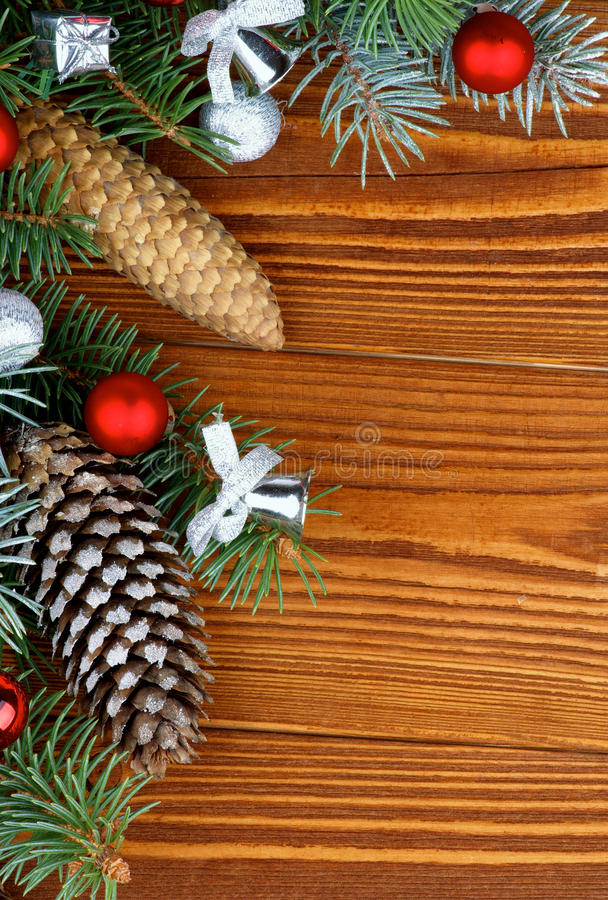Décoration de Noël photo stock