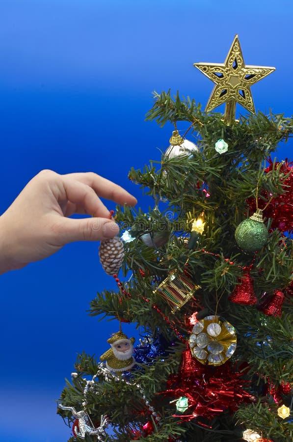 décoration de Noël-arbre images stock
