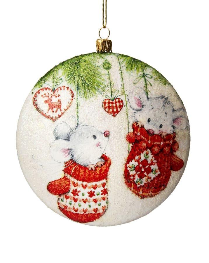 Décoration de Noël. Boule de Noël. photos stock