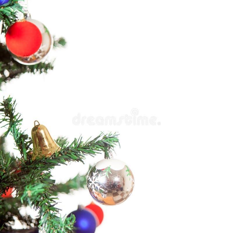 Décoration de Noël d'isolement sur le fond blanc illustration stock