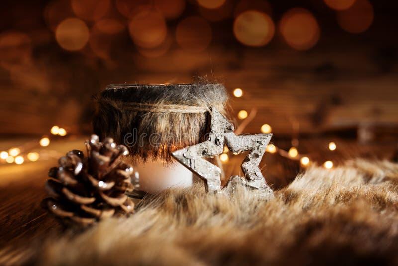 Decoration De Noel Dans Le Style De Maison De Campagne Photo