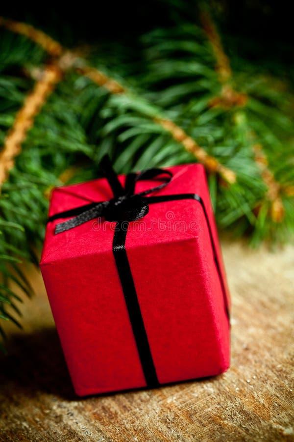 Décoration de Noël et arbre de sapin photographie stock libre de droits