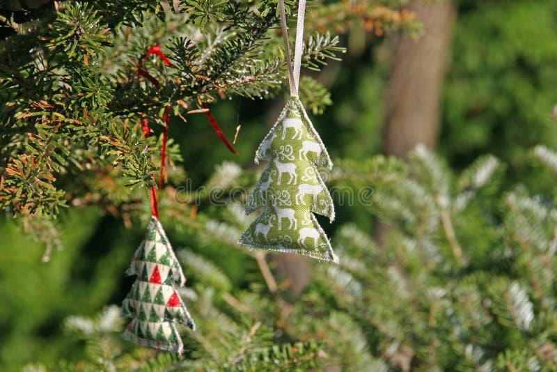 Décoration de Noël faite à la main photographie stock libre de droits
