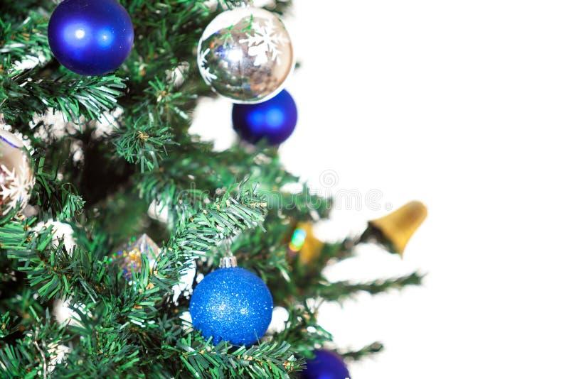 Décoration de Noël sur l'arbre illustration de vecteur