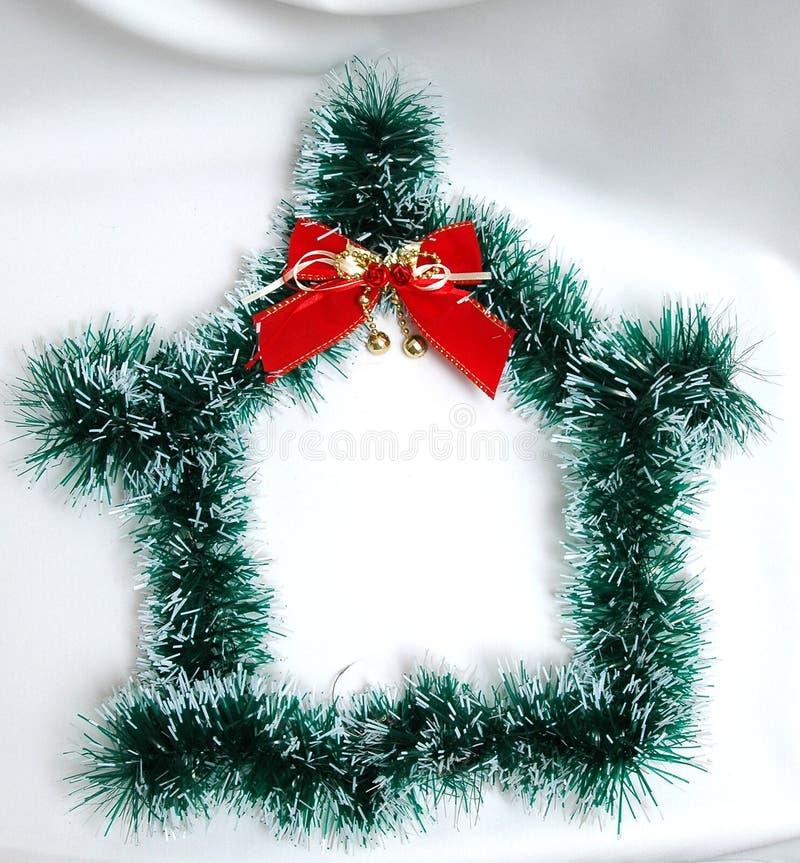 Décoration de Noël sur le fond blanc hous images libres de droits