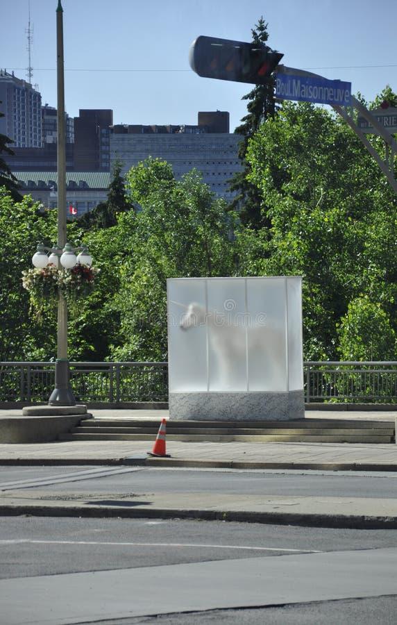 Décoration de rue d'Ottawa de province d'Ontario dans le Canada photographie stock libre de droits