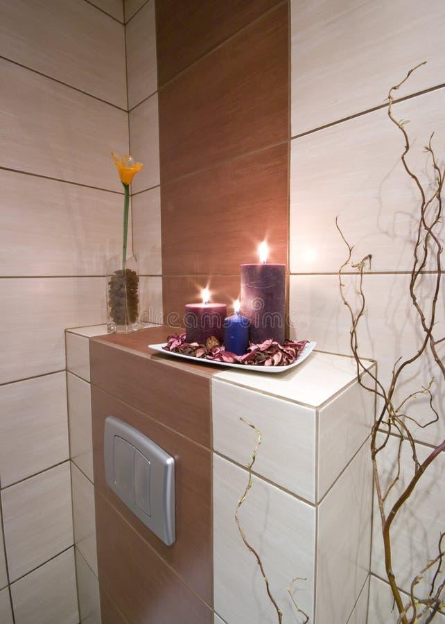 décoration de salle de bains photographie stock libre de droits
