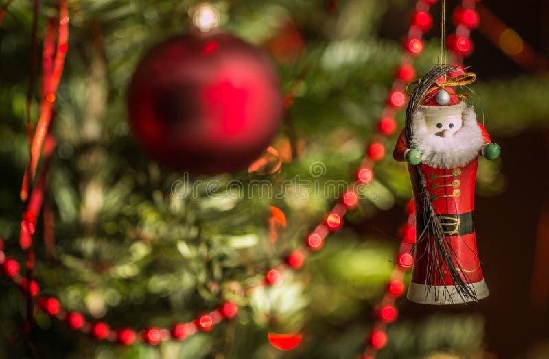 Décoration de Santa photographie stock libre de droits