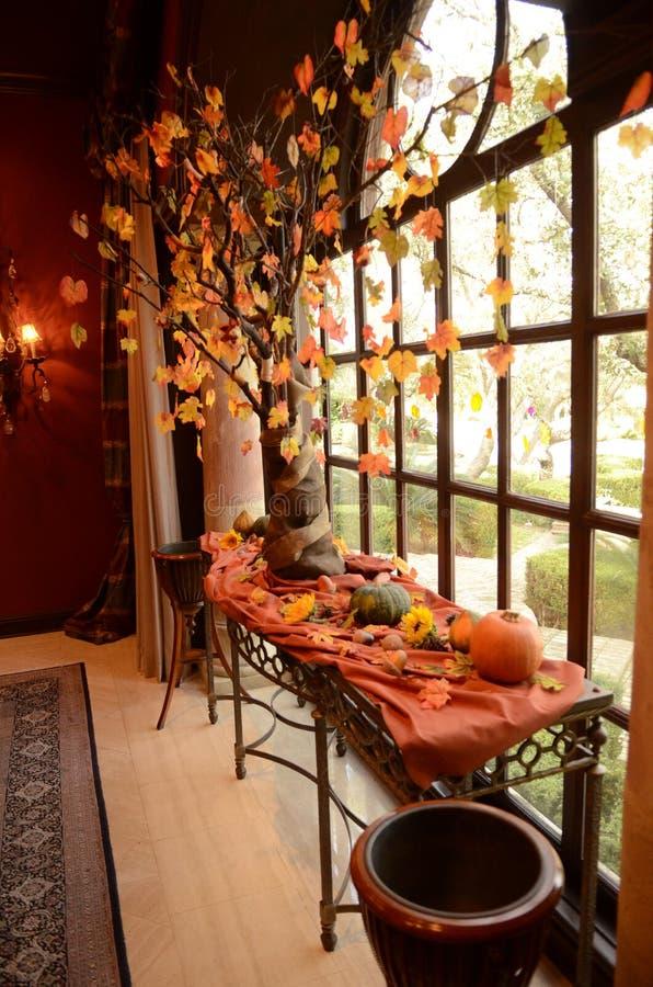 Décoration de thanksgiving photographie stock libre de droits