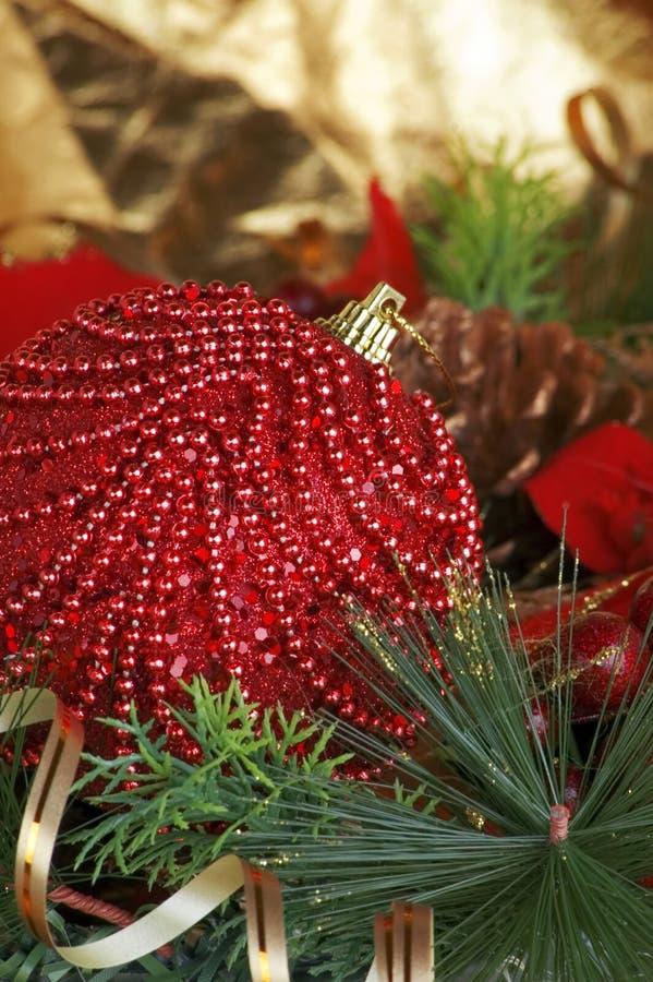 Décoration de trree de Noël photos libres de droits