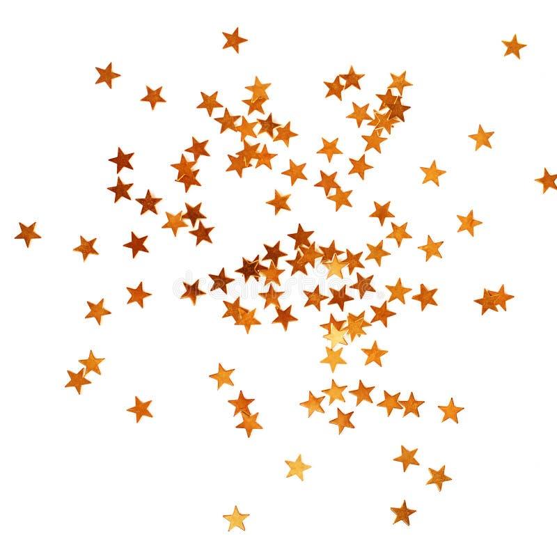 Décoration de vacances avec des étoiles de Noël photographie stock libre de droits