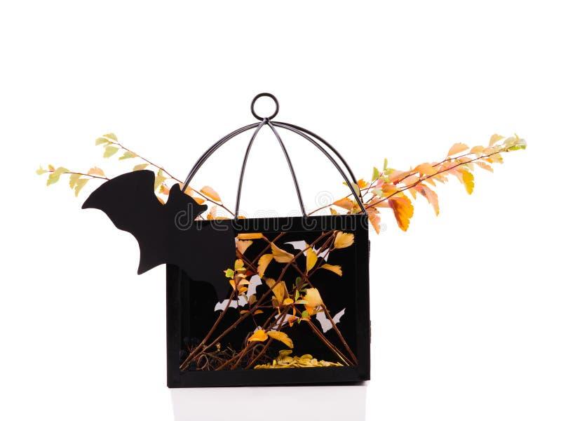 Décoration de vacances de Halloween Potiron découpé de veille de la toussaint décor de potiron avec les visages drôles photo libre de droits