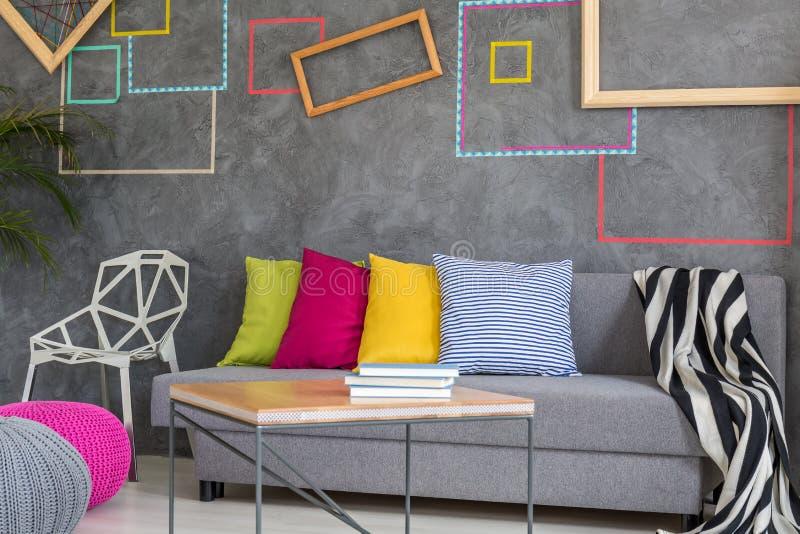 Décoration diy créative de mur image stock