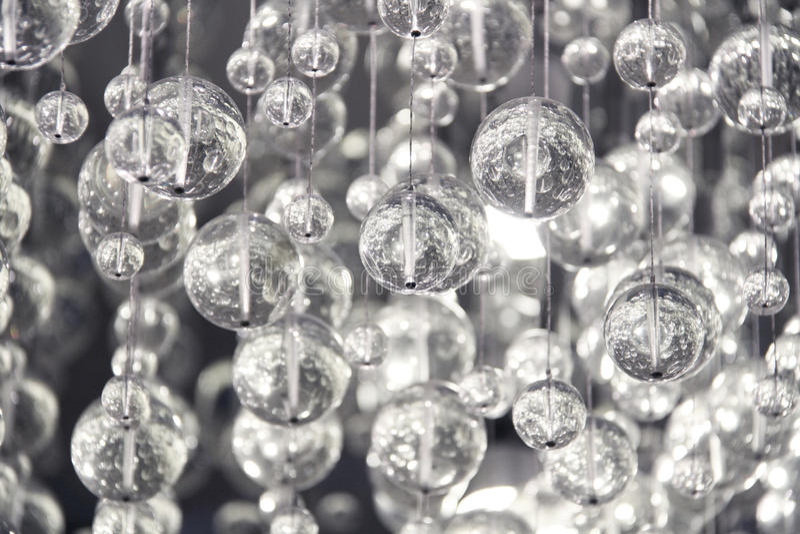Décoration en cristal contemporaine image libre de droits