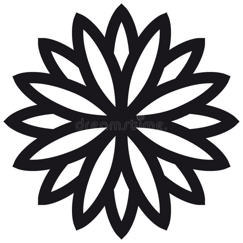 Décoration géométrique (vecteur) illustration stock