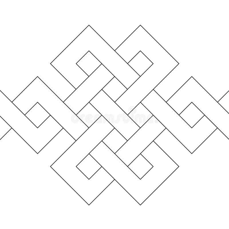 Décoration géométrique (vecteur) illustration de vecteur