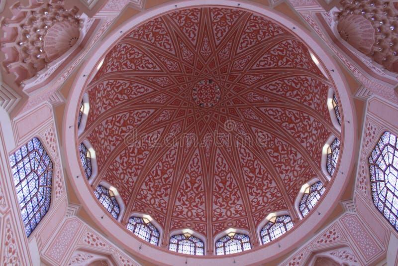 Décoration intérieure de mosquée photos stock