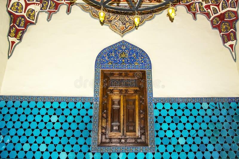 Décoration islamique historique, motif photo libre de droits