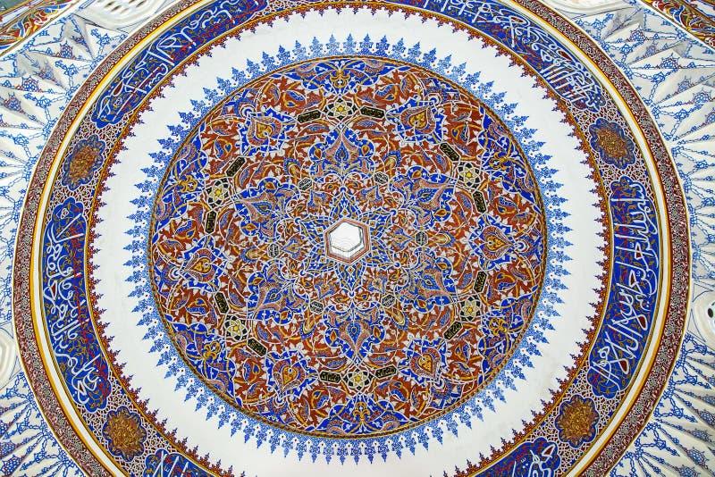 Décoration islamique historique, motif image stock