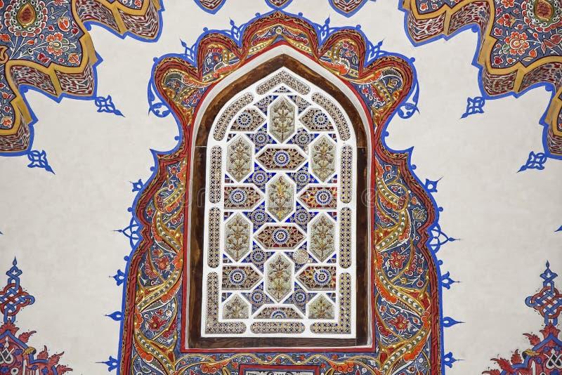 Décoration islamique historique, motif photographie stock libre de droits
