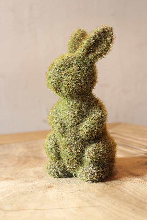 Décoration mignonne d'usine de lapin images libres de droits
