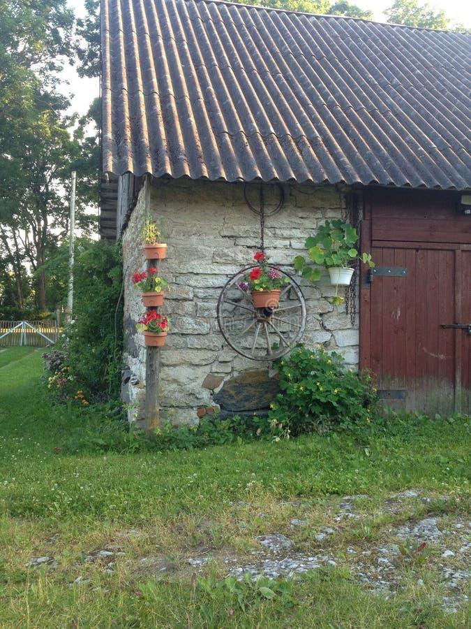 Décorations de jardin image libre de droits