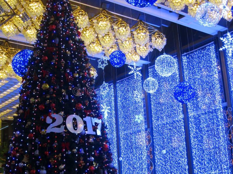 2017 décorations de Noël - nouvelle année image libre de droits