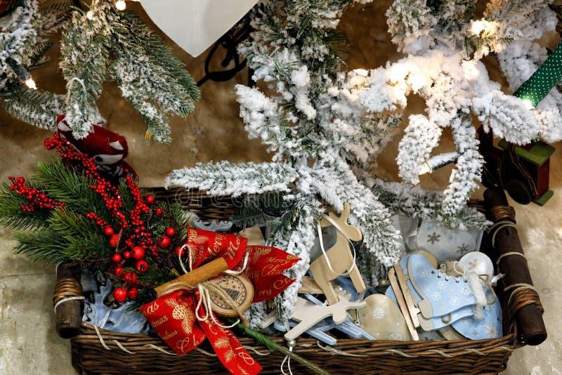 Décorations innovantes pour Noël photographie stock