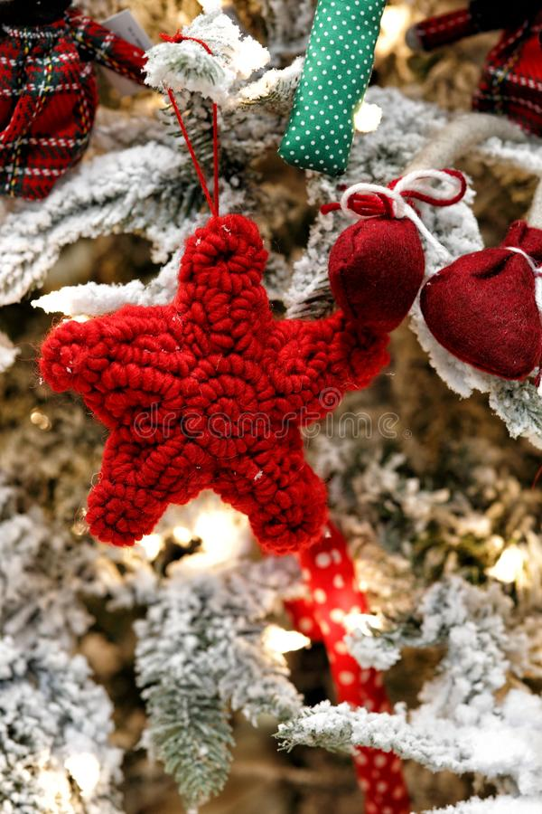 Décorations innovantes pour Noël image libre de droits